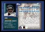 2000 Topps #30  Fred Taylor  Back Thumbnail