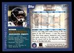 2000 Topps #199  Keenan McCardell  Back Thumbnail