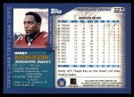 2000 Topps #227  Hardy Nickerson  Back Thumbnail