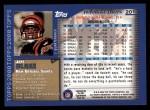2000 Topps #201  Jeff Blake  Back Thumbnail