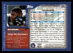 2000 Topps #287  Keyshawn Johnson  Back Thumbnail