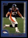 2000 Topps #283  Bill Romanowski  Front Thumbnail