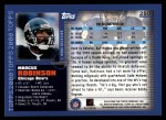 2000 Topps #250  Marcus Robinson  Back Thumbnail