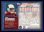 2000 Topps #210  Jake Plummer  Back Thumbnail