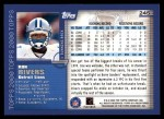 2000 Topps #245  Ron Rivers  Back Thumbnail