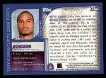 2000 Topps #357   -  Aaron Stecker Eminant Prestige Back Thumbnail