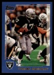 2000 Topps #320   -  Tyrone Wheatley  Highlights Front Thumbnail