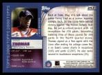 2000 Topps #343   -  Corey Thomas Eminant Prestige Back Thumbnail