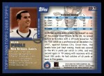 2000 Topps #297  Keith Poole  Back Thumbnail