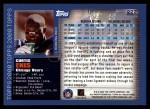 2000 Topps #222  Curtis Enis  Back Thumbnail