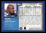 2000 Topps #252  William Floyd  Back Thumbnail