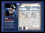 2000 Topps #223  Sean Bennett  Back Thumbnail
