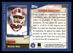 2000 Topps #329   -  Andre Reed  Highlights Back Thumbnail