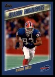 2000 Topps #329   -  Andre Reed  Highlights Front Thumbnail