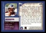 2000 Topps #346   -  Danny Wuerffel Eminant Prestige Back Thumbnail