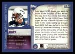 2000 Topps #347   -  Kevin Daft Eminant Prestige Back Thumbnail