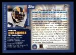 2000 Topps #302  Robert Holcombe  Back Thumbnail