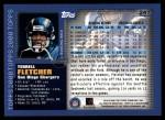 2000 Topps #241  Terrell Fletcher  Back Thumbnail