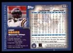 2000 Topps #211  Leroy Hoard  Back Thumbnail