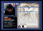 2000 Topps #260  Corey Dillon  Back Thumbnail