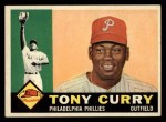1960 Topps #541  Tony Curry  Front Thumbnail