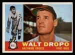 1960 Topps #79  Walt Dropo  Front Thumbnail