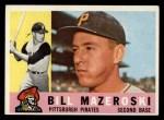 1960 Topps #55  Bill Mazeroski  Front Thumbnail