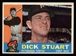 1960 Topps #402  Dick Stuart  Front Thumbnail
