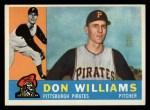 1960 Topps #414  Don Williams  Front Thumbnail