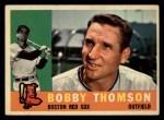 1960 Topps #153  Bobby Thomson  Front Thumbnail