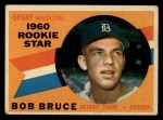 1960 Topps #118   -  Bob Bruce Rookie Star Front Thumbnail
