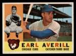 1960 Topps #39  Earl Averill Jr.  Front Thumbnail