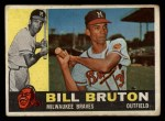 1960 Topps #37  Bill Bruton  Front Thumbnail