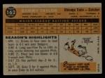 1960 Topps #162  Sammy Taylor  Back Thumbnail