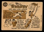 1960 Topps #225  Bill Rigney  Back Thumbnail