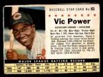 1961 Post #63 BOX Vic Power   Front Thumbnail