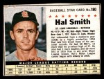 1961 Post Cereal #180 BOX Hal R. Smith  Front Thumbnail