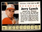 1961 Post #187 COM Jerry Lynch   Front Thumbnail