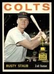 1964 Topps #109  Rusty Staub  Front Thumbnail