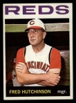 1964 Topps #207  Fred Hutchinson  Front Thumbnail