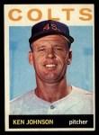 1964 Topps #158  Ken Johnson  Front Thumbnail