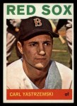 1964 Topps #210  Carl Yastrzemski  Front Thumbnail