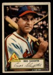 1952 Topps #65 RED Enos Slaughter  Front Thumbnail