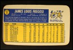 1970 Topps Super #30  Jim Fregosi  Back Thumbnail