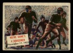1954 Topps Scoop #110   Notre Dame's 4 Horsemen Front Thumbnail