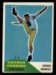 1960 Fleer #46  George Herring  Front Thumbnail