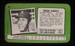 1971 Topps Super #29  Rico Carty  Back Thumbnail