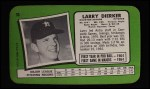 1971 Topps Super #30  Larry Dierker  Back Thumbnail