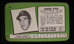 1971 Topps Super #45  Amos Otis  Back Thumbnail