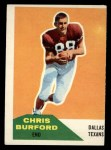1960 Fleer #81  Chris Burford  Front Thumbnail